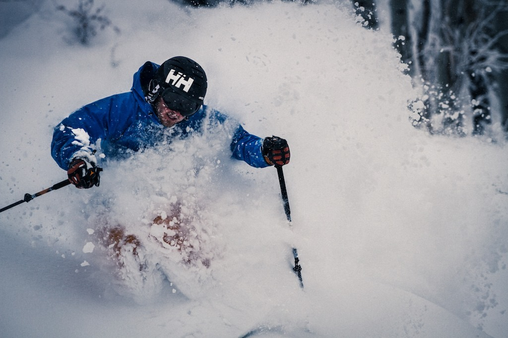 Mike Maroney was our guide at Steamboat. - ©Liam Doran