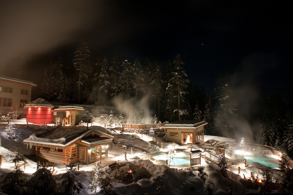 Scandianve Spa at Whistler:     Photo courtesy of Scandinave Spa.