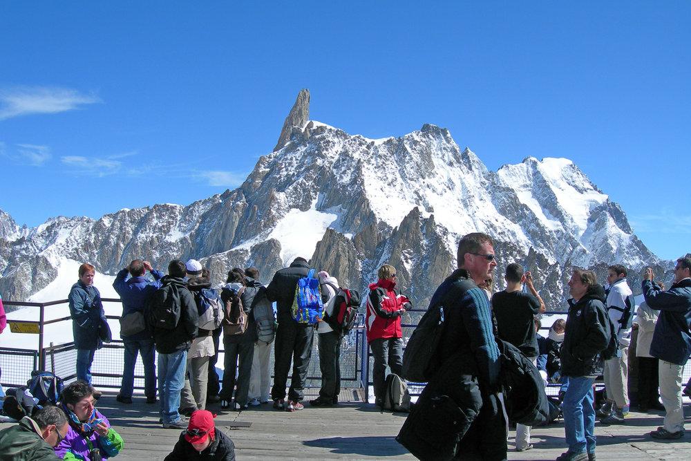 Glacier terrace, Courmayeur 3452m