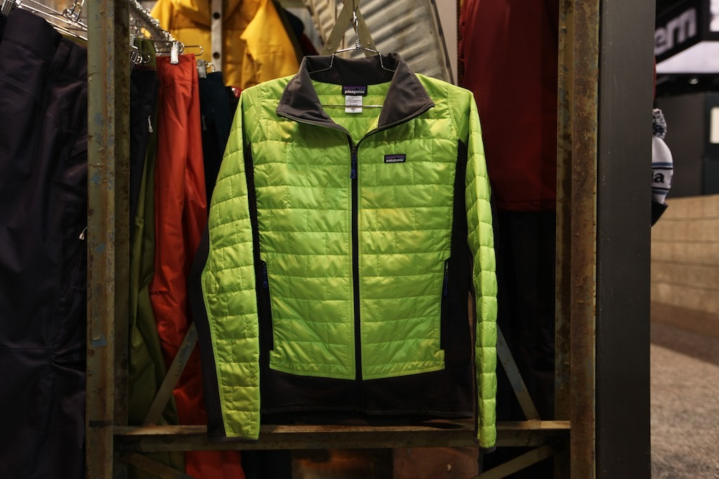 "The new Patagonia Nano Puff® Hybrid Jacket builds on the success of the previous Nano Puff® Hybrid Jacket with a cleaner look and added ""puff."" - ©Tim Shisler"