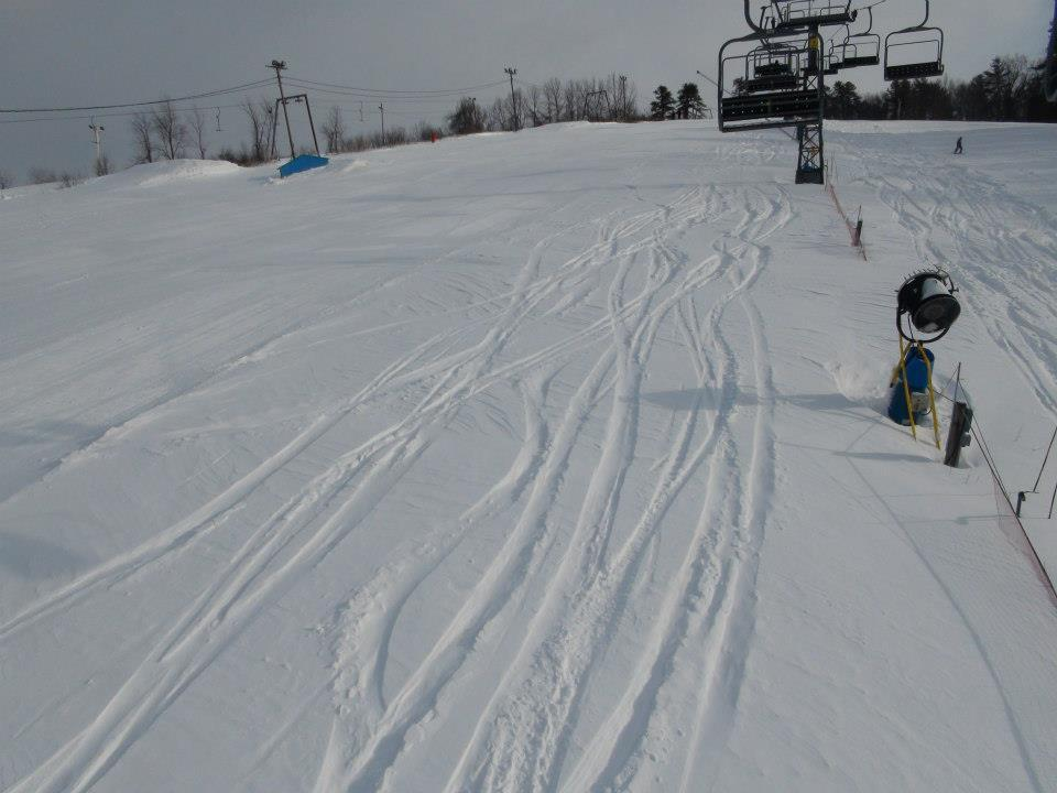 Fresh tracks at Ski Ward. - ©Ski Ward/Facebook