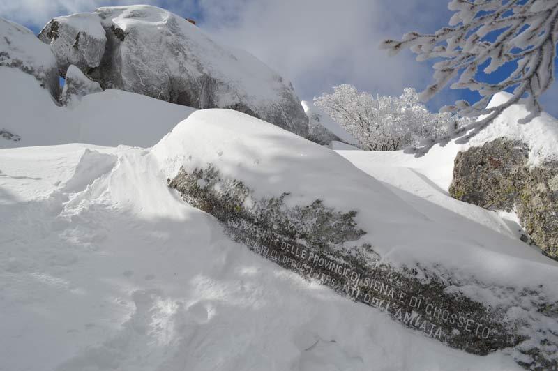 Monte Amiata, Abruzzo (ITA) - Fresh snow 11.02.13 - ©Francesco Bisconti