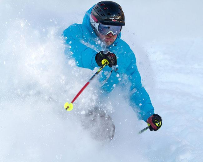 Skiing deep pow at Sugarbush. Photo Courtesy of Sugarbush Resort. Powder 12/29/11