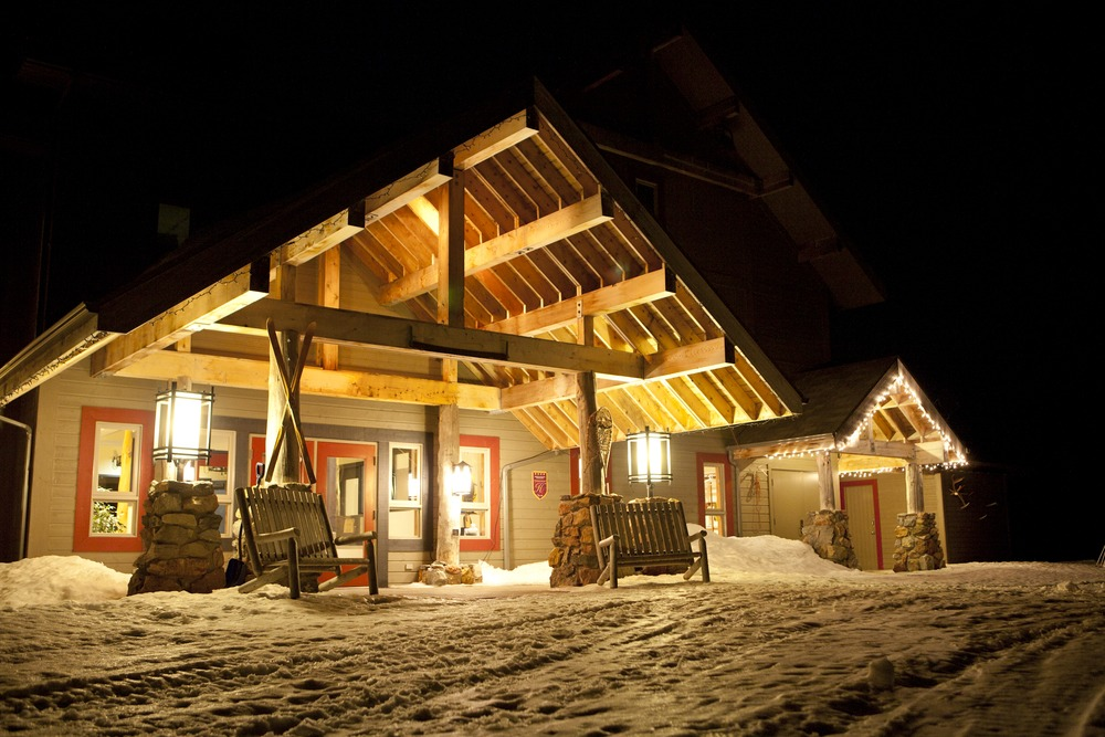 The Chic Chocs Mountain Lodge sits just outside Quebec's Parc Nacional de la Gaspesie in the heart of the Monts Chic Chocs. It serves as an ideal launch pad into the backcountry hut system of the Parc. - ©Brian Mohr/EmberPhoto