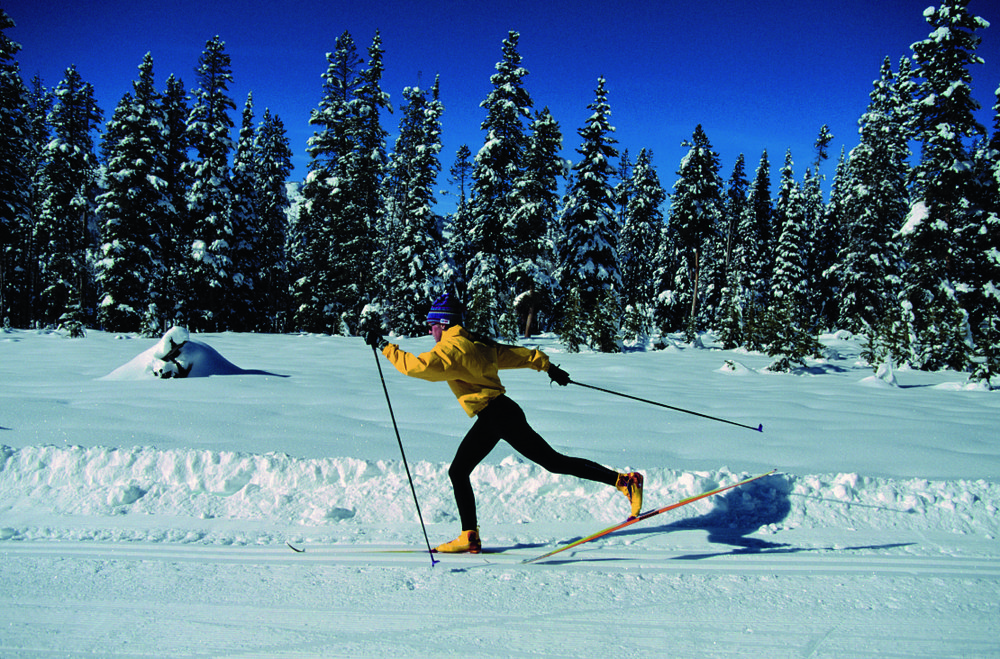 Cross-country skiing in Pregelato. Courtesy of Comune di Pragelato - ©Comune di Pragelato