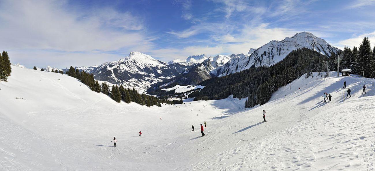 Abondance ski area