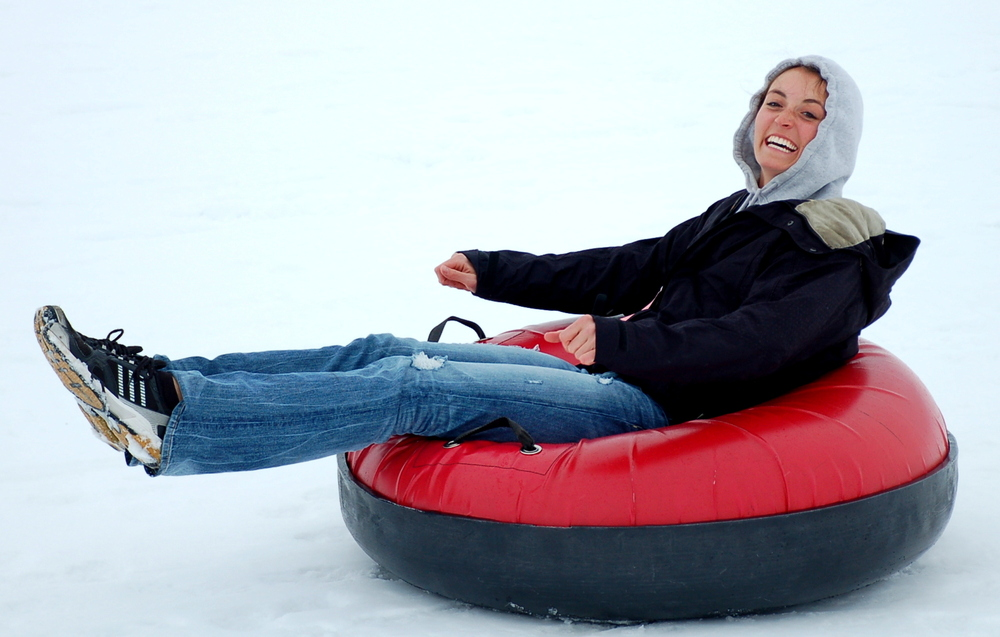 The tubing hill at Saddleback Ranch is just outside of Steamboat Springs.