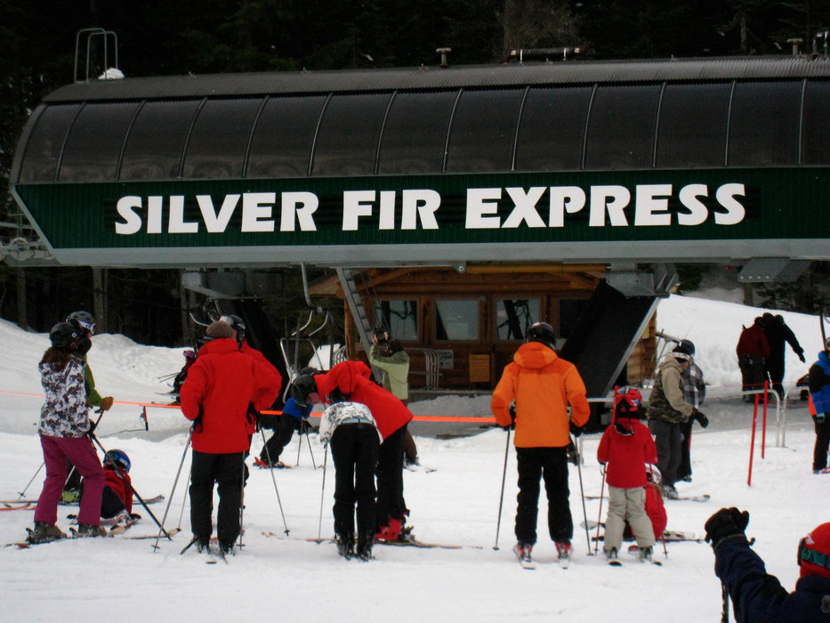 Silver Fir Chair at Summit Central at Snoqualmie. Photo by Becky Lomax.
