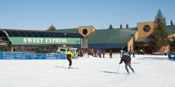 Express lift at Michigan's Bittersweet.