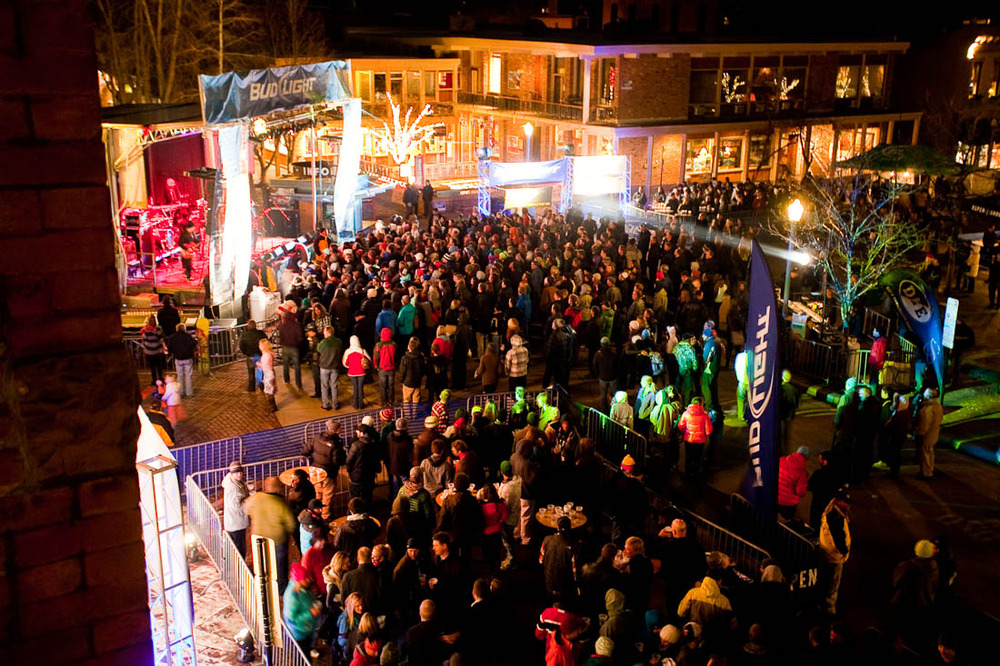 There's plenty of live music in downtown Aspen.