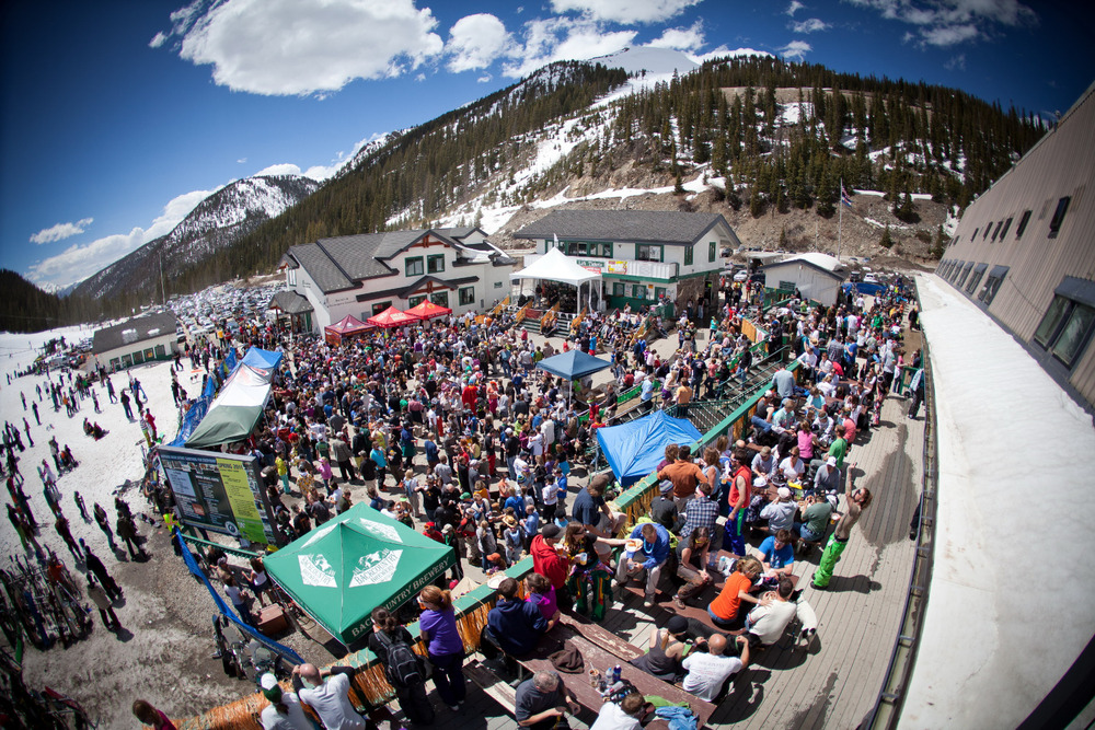 A-Basin hosts an annual spring concert series. - ©Photo courtesy Dave Camara/Arapahoe Basin.
