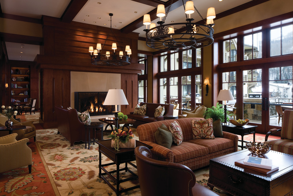 Fireside Lounge at Four Season Vail. - ©Jeff Scroggins
