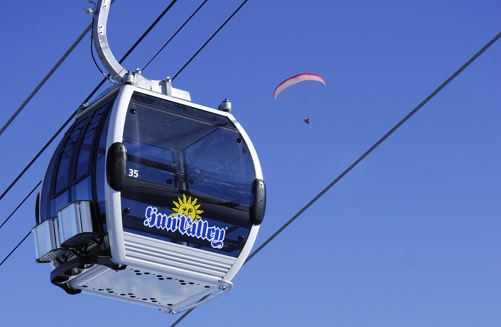 Gondola at Sun Valley Resort. Photo courtesy of Sun Valley Resort.