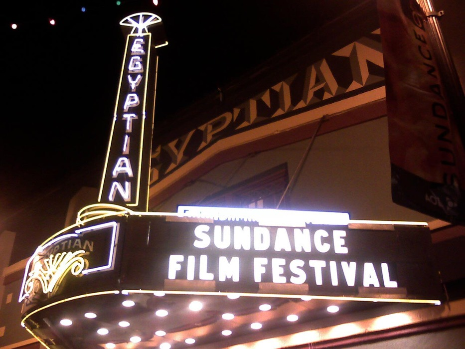 The Egyptian Theatre, centerpiece of the Sundance (Utah) Film Festival.