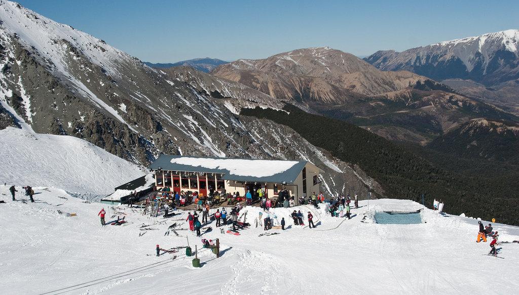 Craigieburn ski area, NZ
