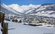 A view of the town in Crested Butte, Colorado