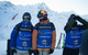 Sverre Liliequist, Richard Permin and Fabio Studer of Team Europe scout lines before the competition. - ©D.Daher/swatchskierscup.com