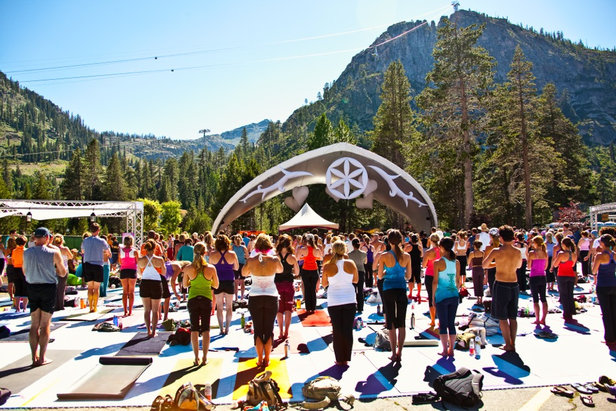 Wanderlust California is a celebration of yoga, music and delicious fresh food.