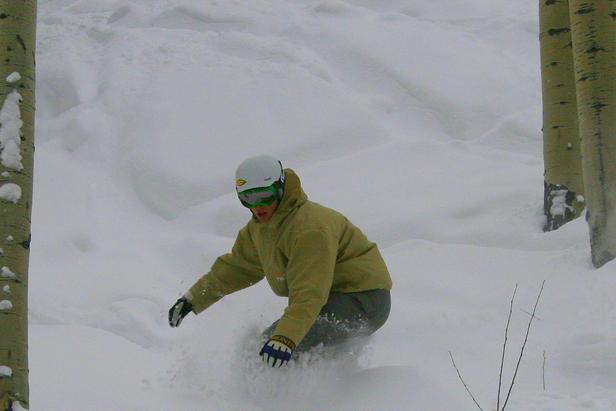 Powderhorn snowboarding