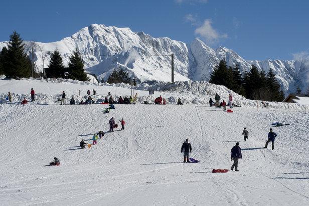 Alpe du grand serre photos de la station piste de luge - Office du tourisme alpe du grand serre ...