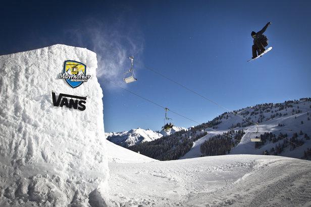 Snowboarden in Mayrhofen - ©Bergbahnen Mayrhofen