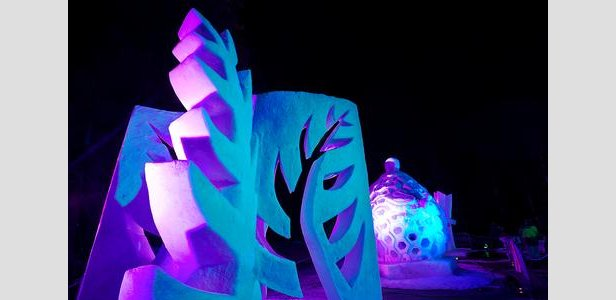 Carve Tahoe international snow sculpting event will take place at Northstar California Jan 28-Feb 2 - ©Northstar California