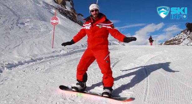 Corso di Snowboard - Lezione #3 - Posizionamento sulla Tavola
