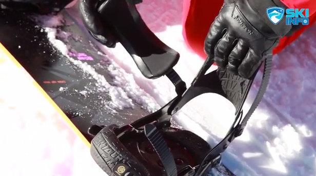 Corso di Snowboard - Lezione #4 - Utilizzo e registrazione attacchi