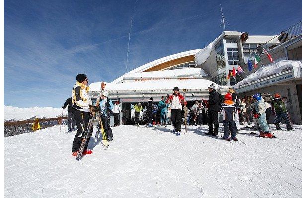 Val di Sole - Folgarida Marilleva, Andare a sciare in treno