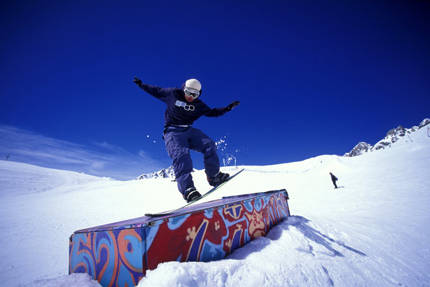 Snowboarder - ©© Savoie Mont Blanc / Haase