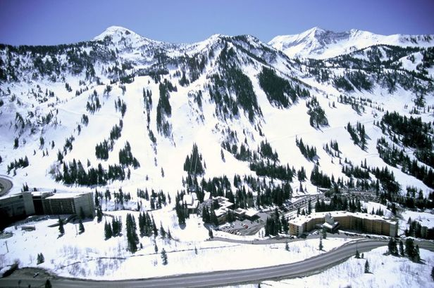 Snowbird, Utah mountain view