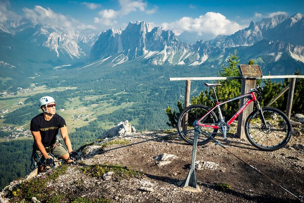 Cortina, Climb and Ride