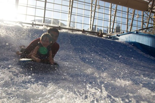 Hunt waves instead of eggs this Easter at Jay Peak. - ©Jay Peak Resort