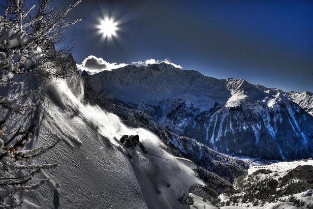 Les Arcs is freerider heaven - ©Les Arcs Réservation