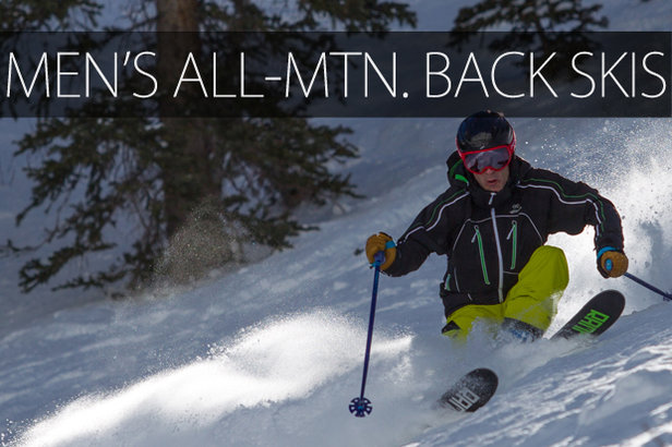 Men's 2015 All-Mountain Back Skis - ©Cody Downard Photography