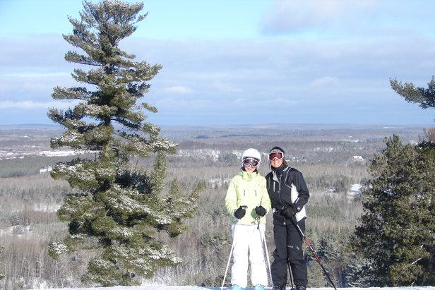 Pine Mountain, MI skiers