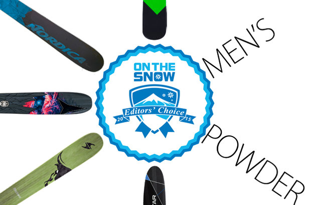 2015 Editors' Choice Men's Powder Skis