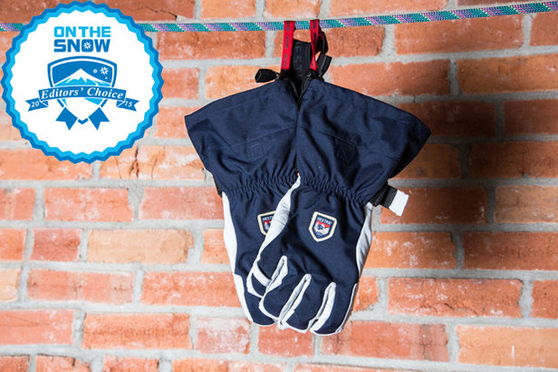 2015 men's gloves/mittens Editors' Choice: Hestra Heli Ergo Grip Glove - ©Liam Doran