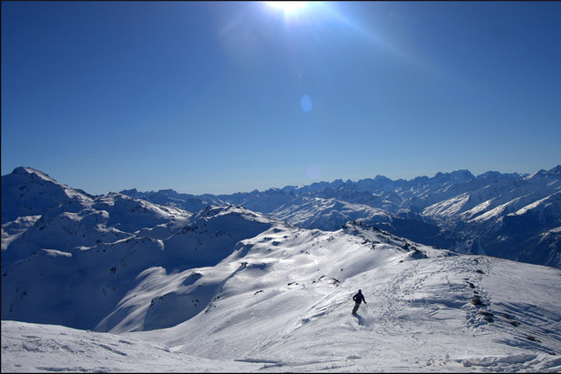 Orelle is one of the lesser-known resorts in the Three Valleys ski area, France - ©StripeyAnne