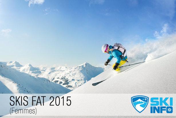 Test skis Fat 2015 pour femmes - ©mRGB - Fotolia.com