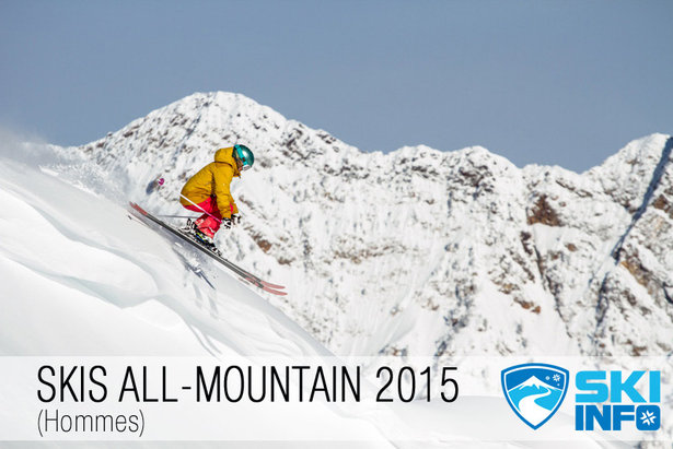 test skis all mountain 2015 - ©Liam Doran