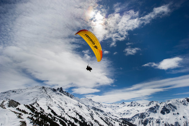Paragliding in Val d'Anniviers - ©Val d'Anniviers Valais