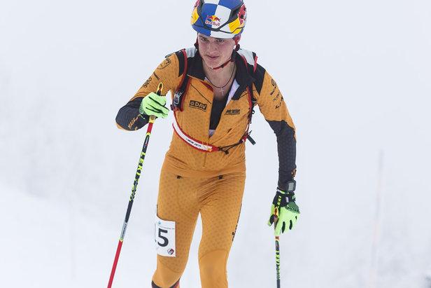 Deutscher Meister im Vertical Race: Toni Palzer - ©DAV / Marco Kost