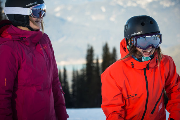 Whistler Blackcomb's camps for women are offered several times during winter. - ©Whistler Blackcomb