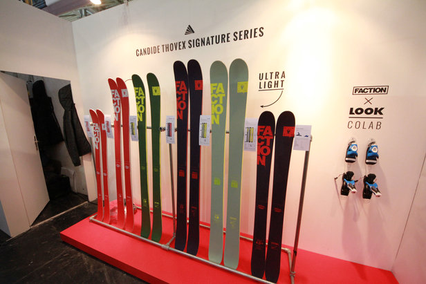Die Candide Thovex Signature Series von Faction - ©Skiinfo