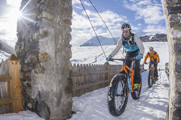 Fat biking in Livigno - ©Livigno