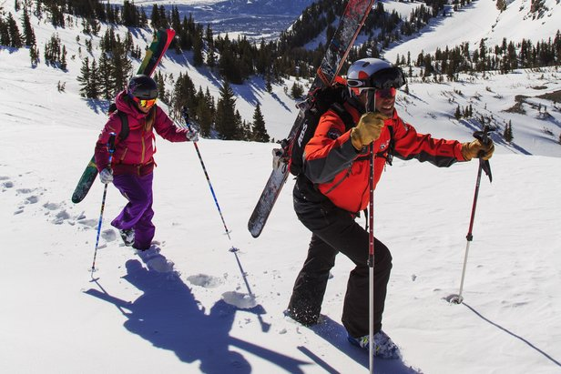 Skiers can learn backcountry skills in the Teton Mountains at Jackson Hole Mountain Resort. - ©Jackson Hole Mountain Resort