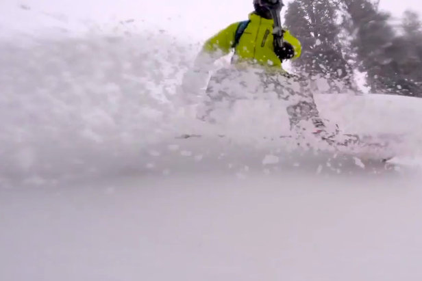 Fresh snow Feb. 9, 2015 at Mt. Hood Meadows. - ©Mt. Hood Meadows