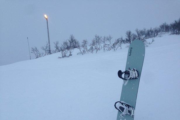 Skiinfo tester: Furberg snowboards Freeride 168 - ©Eirik Aspaas