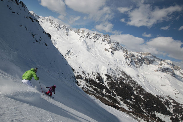 Le migliori 10 piste della Val di Fassa - 5) Pista Col Margherita Passo San Pellegrino - ©Val di Fassa / F. Modica